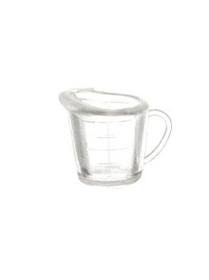 FA40128 - Clear measuring cup