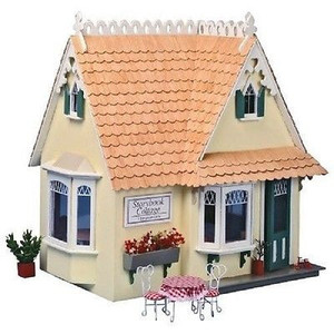 Dollhouse Kit - Corona Concepts/Greenleaf - DH8021 - Storybook Cottage - Yellow Front