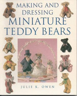 0-7153-1432-7 - Making and Dressing Miniature Teddy Bears