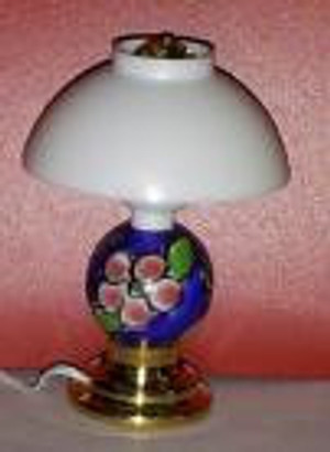 ​Dollhouse Miniature - MH915 - Modern Table Lamp - April Flowers