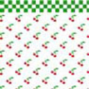 "BPHKT101 - 1/2"" Scale Wallpaper - Cherries"