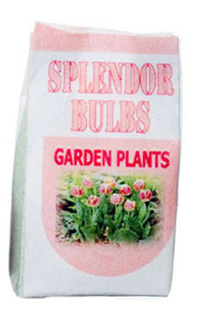 Dollhouse Miniature - SPLENDOR BULBS GARDEN PLANTS - FA56004