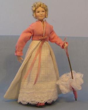 319 - Regency Lady Costume #2 - Sewing Pattern