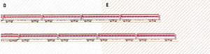 MG135D23 - WP - CHOO CHOO TRAIN/RED