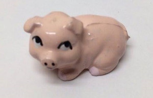 Dollhouse Miniature - G1526 - Pink Piggy