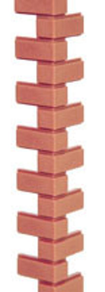 HW8207 - Corner Bricks Strip - 1:12