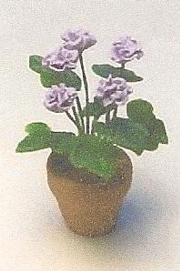 Dollhouse Miniature - 1618-1 - Flower Kit:  Mum - Mauve