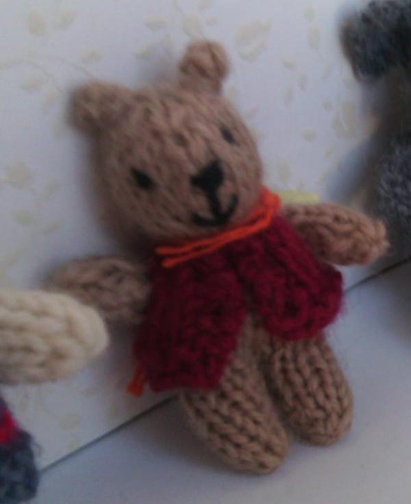 Teddy Bear in Jacket Free Knitting Pattern | Favorite Bear ... | 737x600