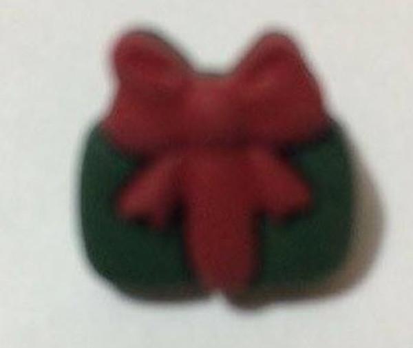 21108-4 - Plastic Christmas Parcel - Green