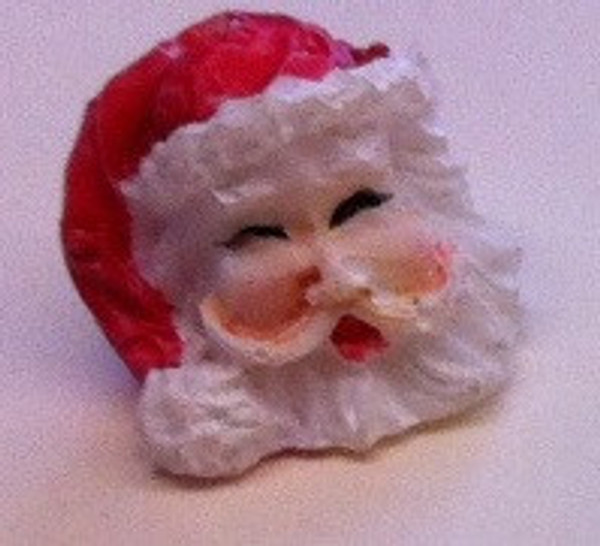 3907 - Santa Head with Red Hat