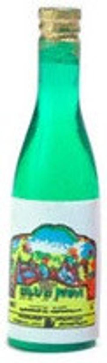D3180-2 - Single White Bottle of Wine
