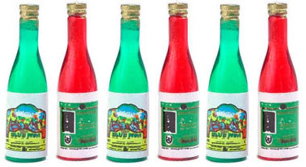 D3180 - Bottles of Red & White Wine - Pkg/6