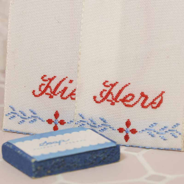 RYH7310 - Bathroom towels and soap - His and Hers
