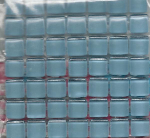 "Dollhouse Miniature - 19701-3 - Glass Tiles - Baby Blue - 3/8"" each"