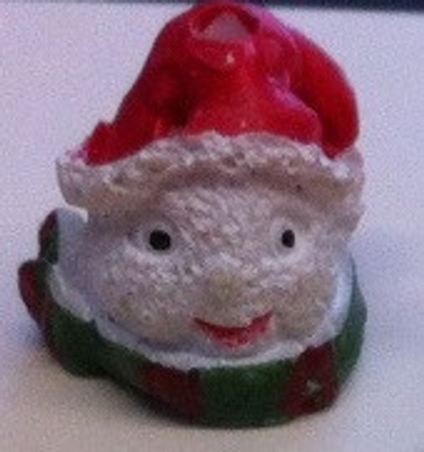 3921 - Christmas Snowman Head with Red Hat