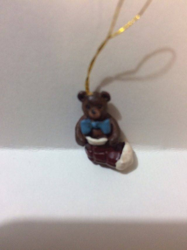 15460-2 - Stocking Christmas Ornament - Country Charm