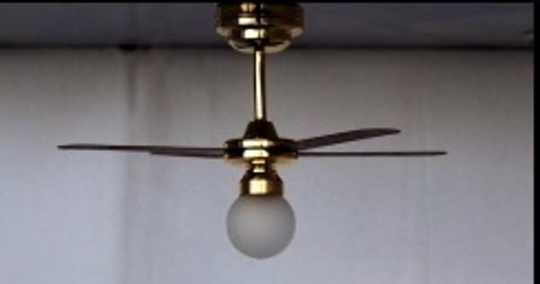 C36 - Battery LED Ceiling Fan