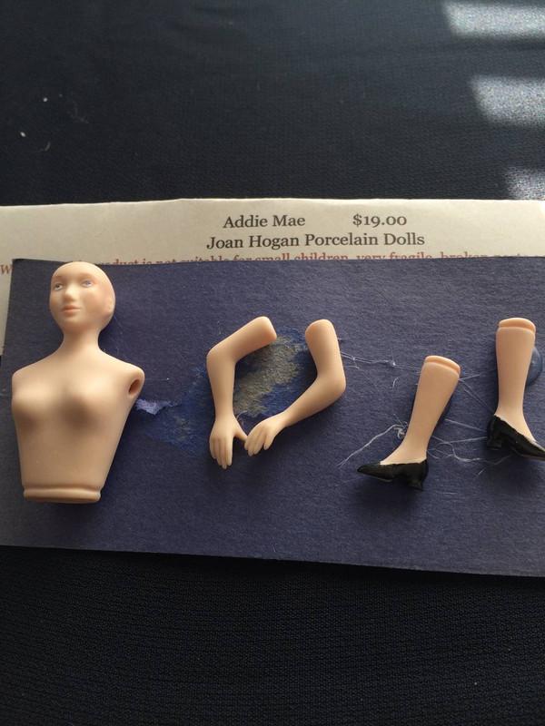 Addie Mae - Porcelain Doll Kit