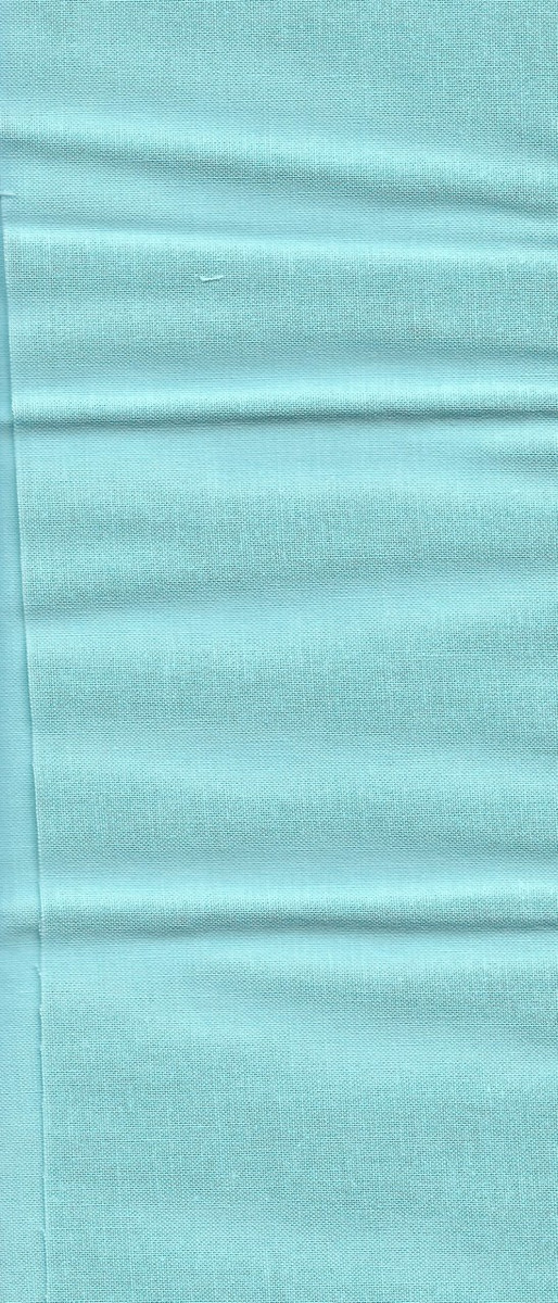 "10011-15 Fabric:  Light Teal- 11"" x 21"""