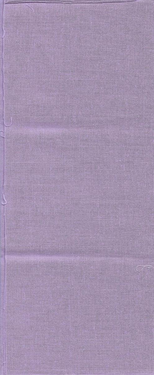 "10011-17 Fabric:  Pale Purple - 11"" x 21"""