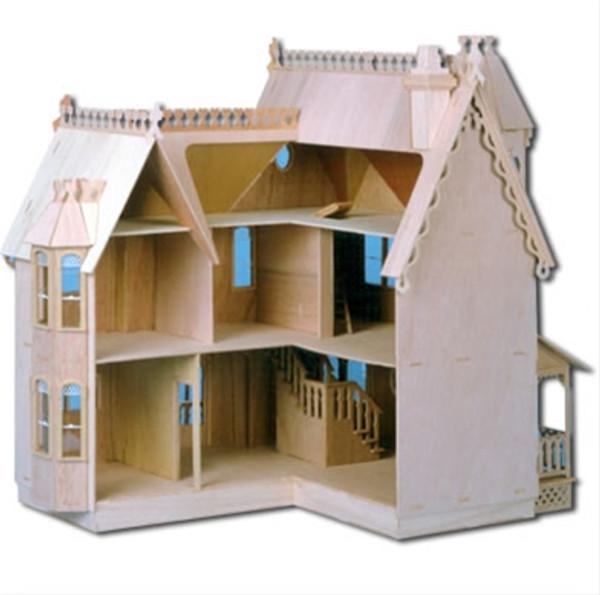 Dollhouse Kit - DH8011 - The Pierce Dollhouse Kit