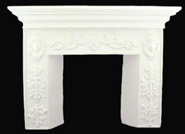 UMF1 - Fireplace - White