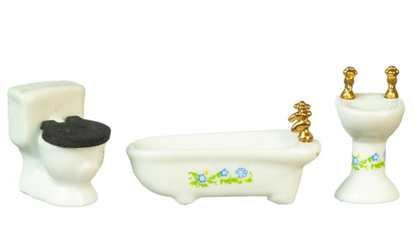 B0162 - 1/2 scale porcelain bathroom set