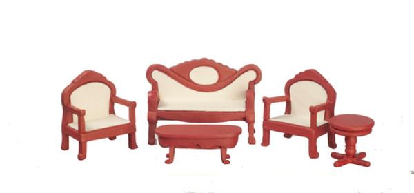 "T0265 - 1/2"" Scale Living Room Set - Mahogany"