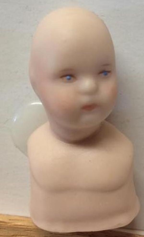 Dollhouse Miniature - Porcelain Doll Kit - Child - Bette 1 Face - 1:12 Scale