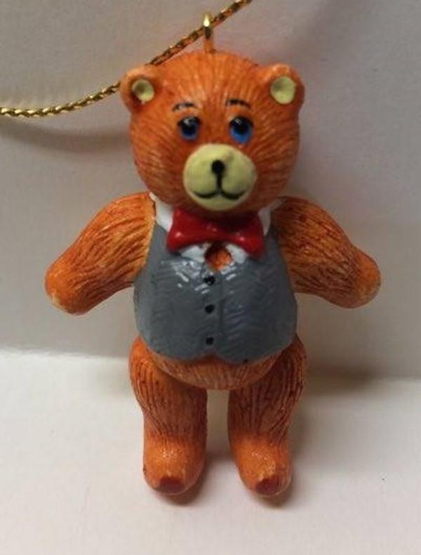 Dollhouse Miniature -YM0128-2 - Christmas Bear