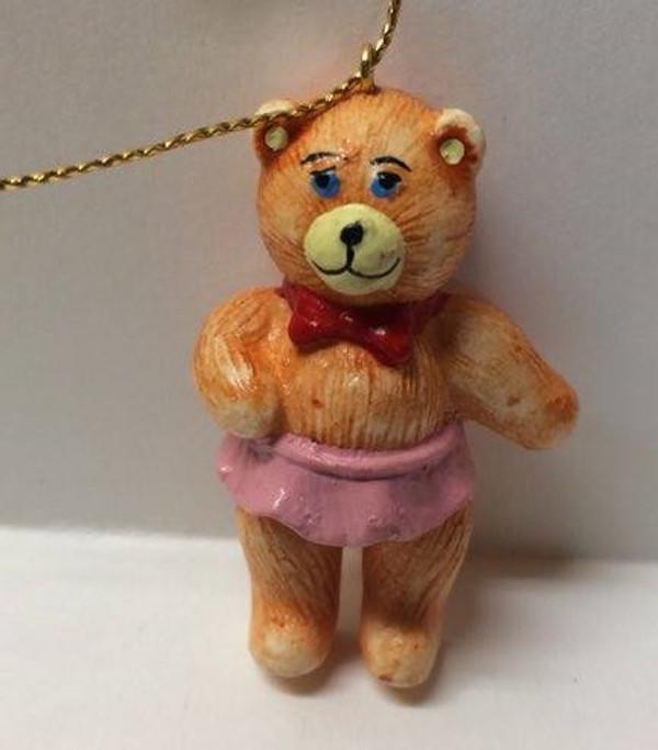 Dollhouse Miniature -YM0128-3 - Christmas Bear