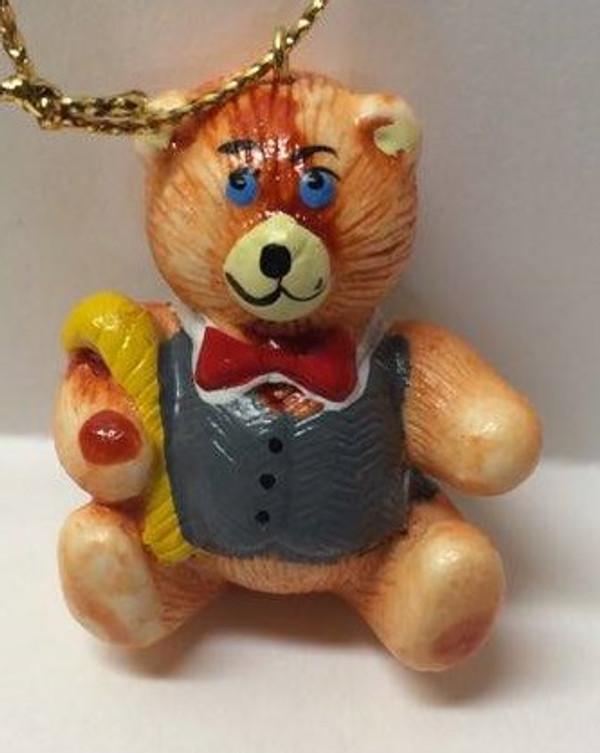 Dollhouse Miniature -YM0128-4 - Christmas Bear