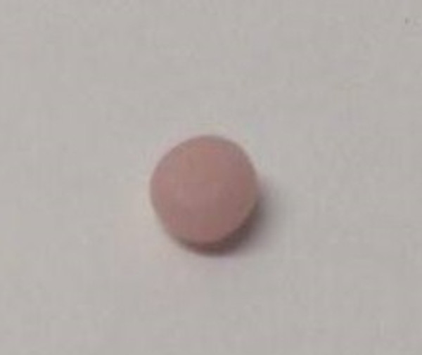 Dollhouse Miniature - 996 - Bar of Soap - Round - Pale Peach