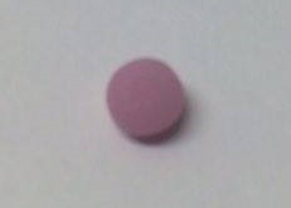 Dollhouse Miniature - 996 - Bar of Soap - Round - Dusty Rose