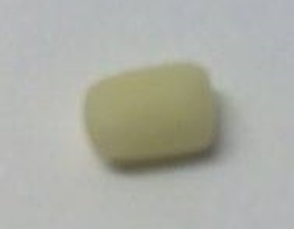 Dollhouse Miniature - 997 - Bar of Soap - Rectangle - Pale Yellow