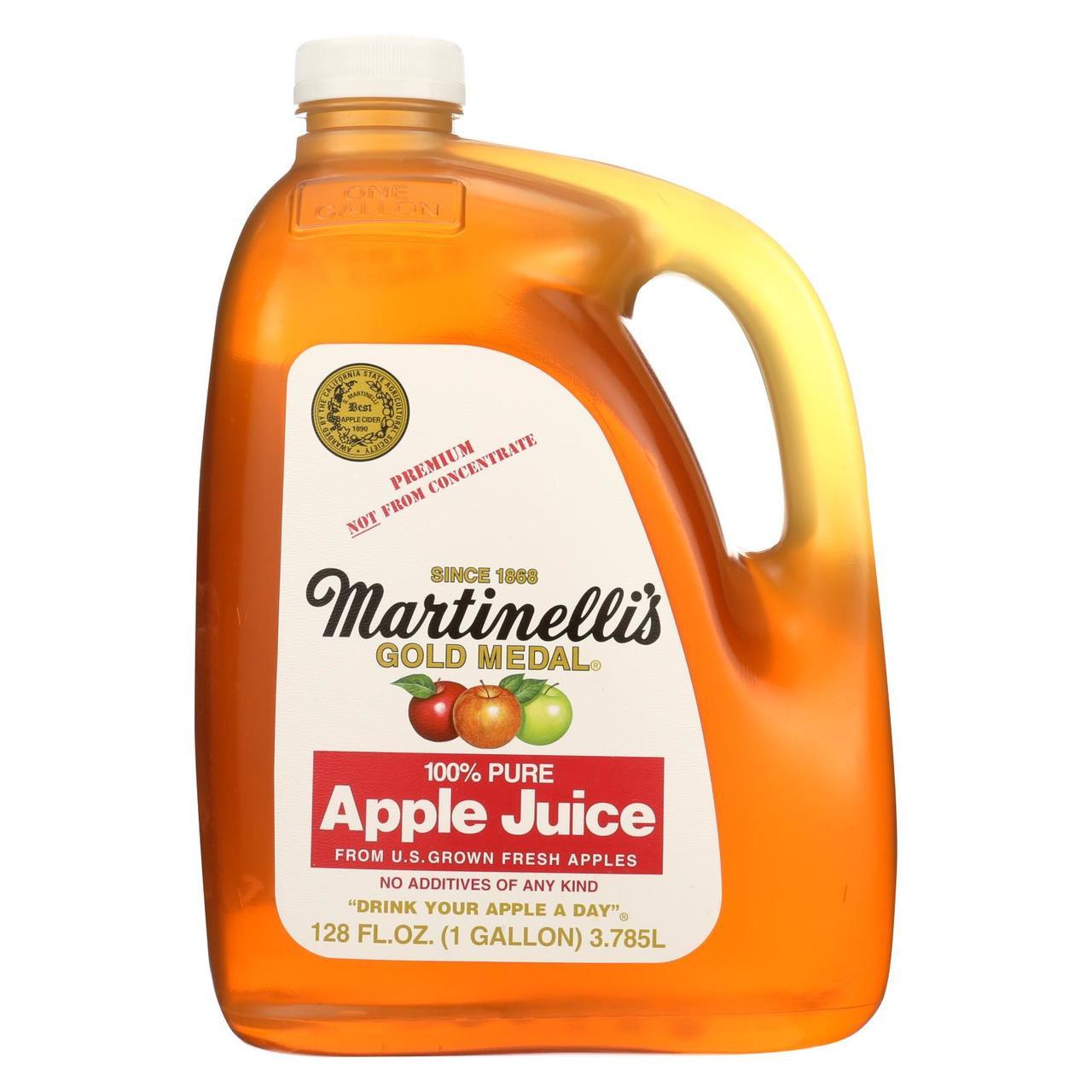 Martinelli S Apple Juice Case Of 4 128 Fl Oz