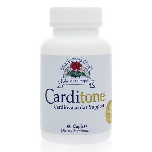 Carditone by Ayush Herbs 60 caplets