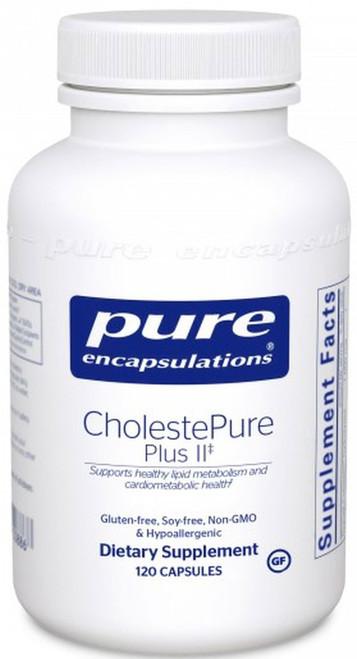 CholestePure Plus II by Pure Encapsulations 120 capsules