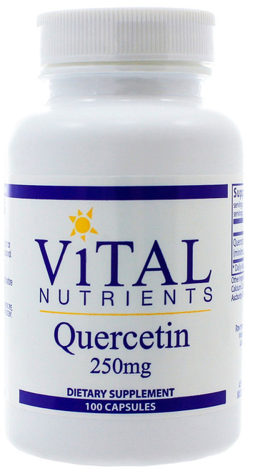 Quercetin 250mg by Vital Nutrients 100 capsules