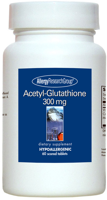 Acetyl Glutathione 300mg by Allergy Research Group 60 tablets