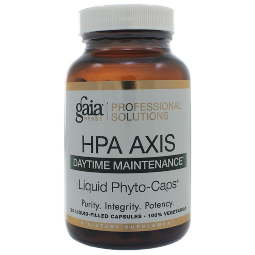 HPA Axis Daytime Maintenance by Gaia Professional Solutions 120 liquid phyto-caps