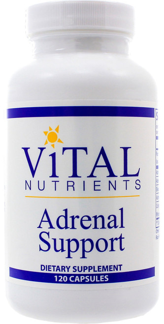 Adrenal Support by Vital Nutrients 120 capsules