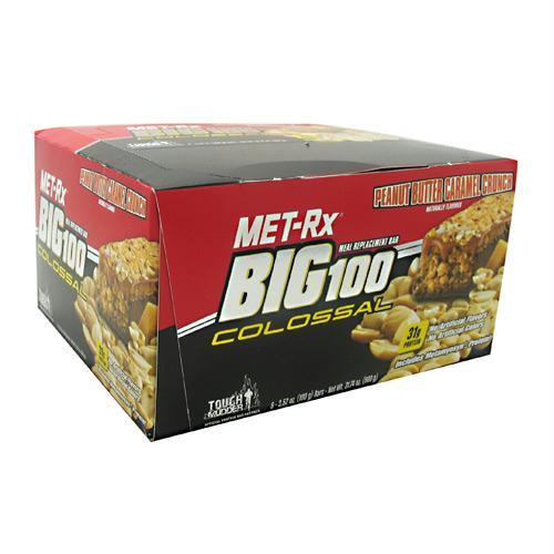 Met-Rx USA Big 100 Colossal Peanut Butter Caramel Crunch