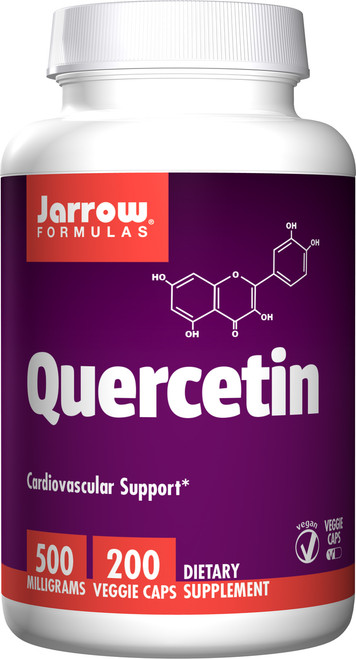 Quercetin 500 by Jarrow Formulas 200 capsules Free Shipping
