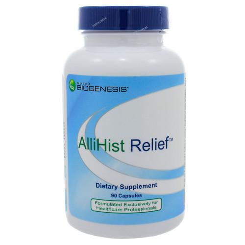 AlliHist Relief by Nutra BioGenesis 90 veggie capsules