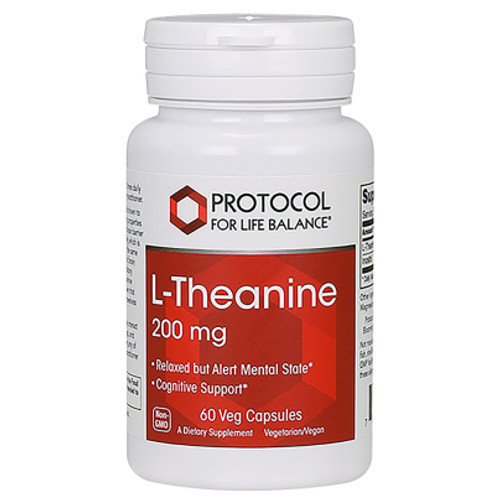 L-Theanine 200mg Protocol for Life Balance 60 capsules