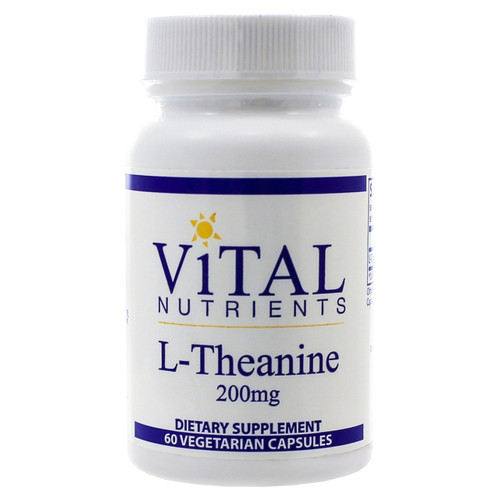 L-Theanine 200mg by Vital Nutrients 60 capsules