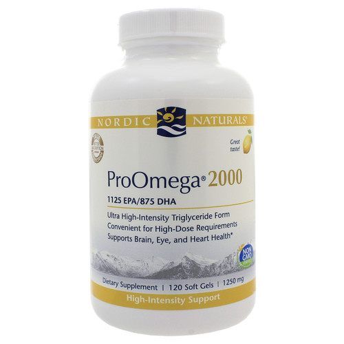 ProOmega 2000 by Nordic Naturals 120 softgels