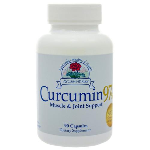 Curcumin 97 by Ayush Herbs 90 capsules