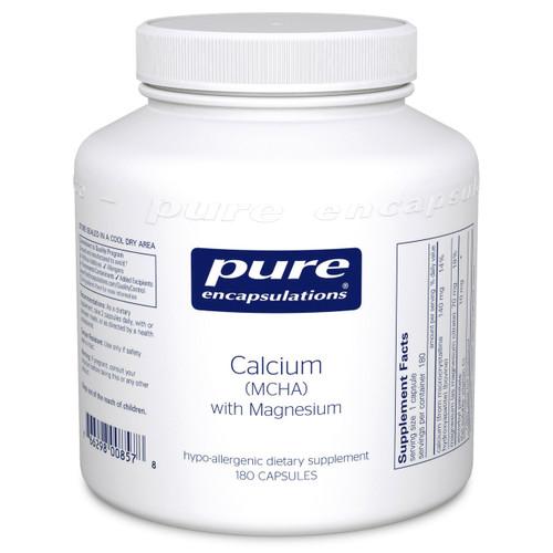 Calcium MCHA with Magnesium by Pure Encapsulations 180 capsules